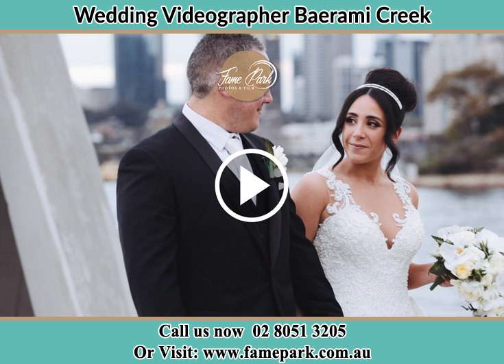 The new couple smile at each other Baerami Creek NSW 2333