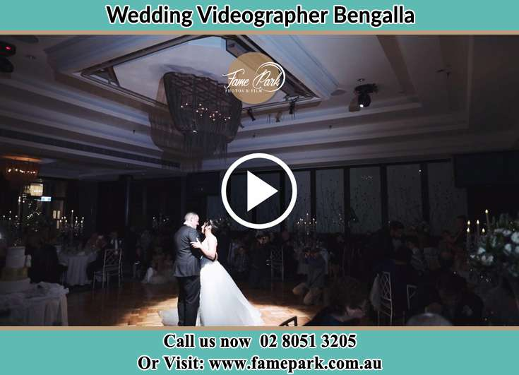 The new couple dancing on the dance floor Bengalla NSW 2333