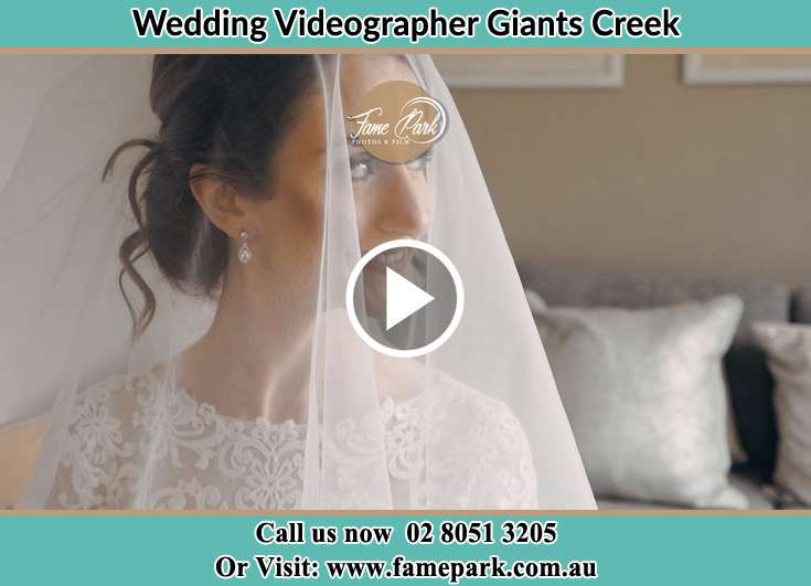 The Bride smiles for the camera Giants Creek NSW 2328