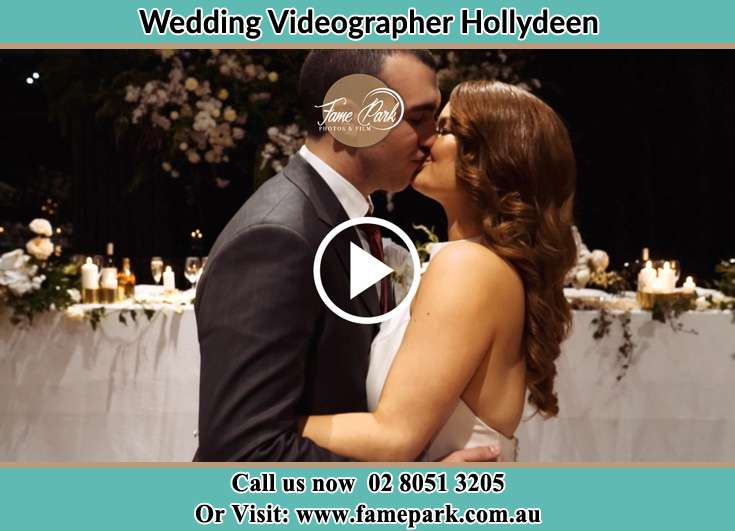 The new couple kissing Hollydeen NSW 2328