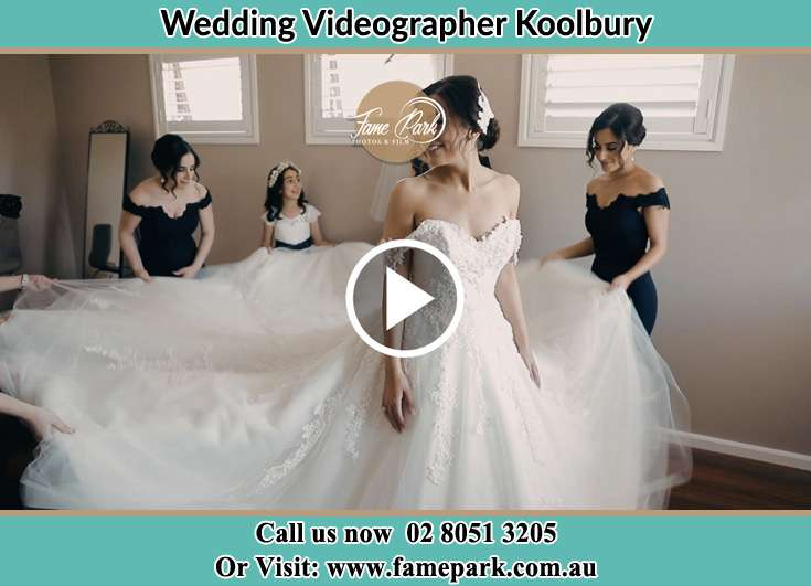 Bride already prepared with her secondary sponsors Koolbury NSW 2290