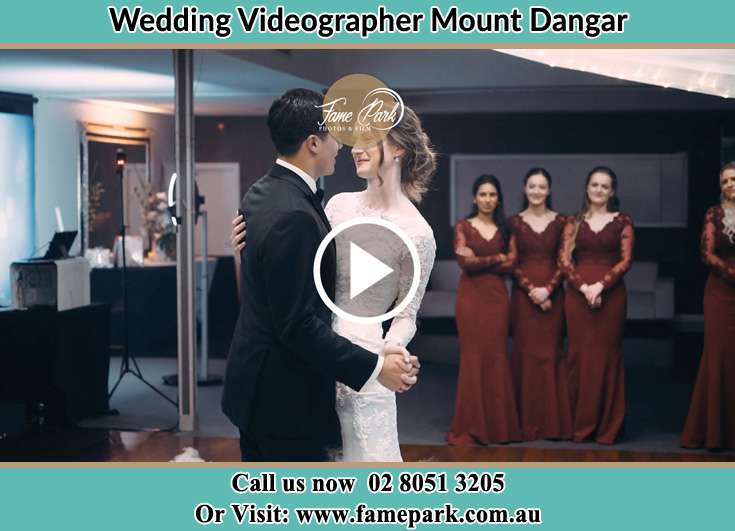 The new couple dancing on the dance floor Mount Dangar NSW 2333