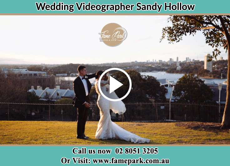 The newlyweds dancing outdoors Sandy Hollow NSW 2333